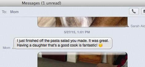 Moms LOVE this delicious pasta salad! | Well and Full | #vegan #recipe