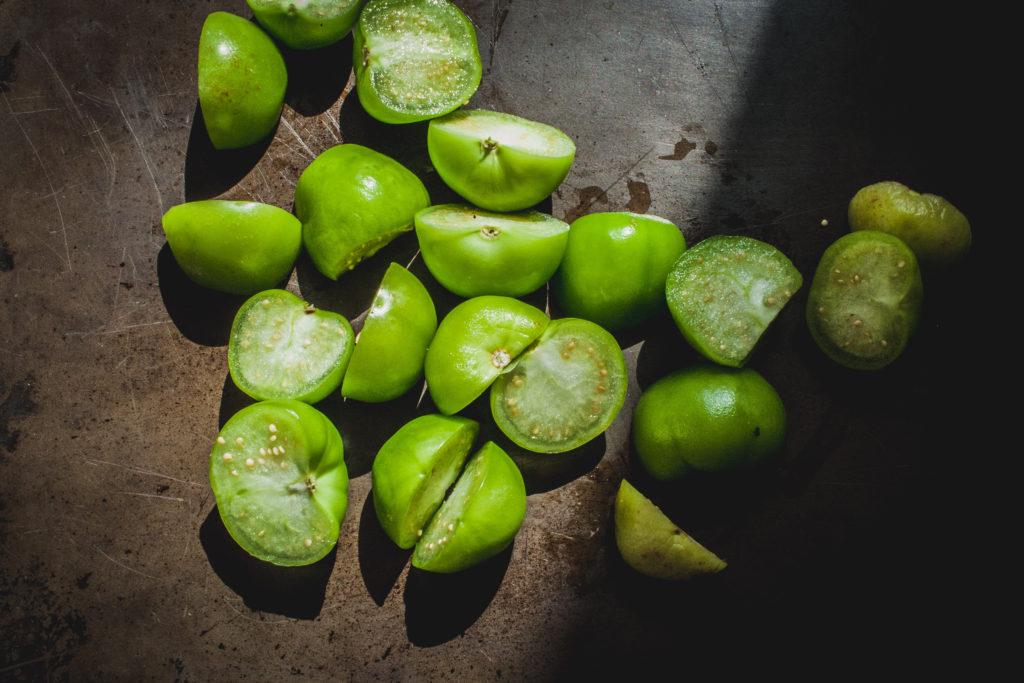 Street Tacos w/ Salsa Verde + Spicy Salsa Roja | Well and Full | #vegan #recipe