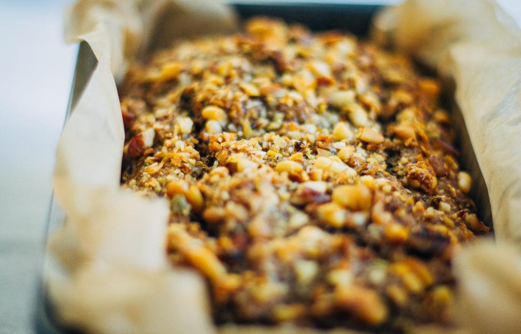 Espresso Banana Bread | Well and Full | #vegan #recipe