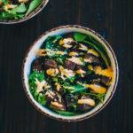 Za'atar Roasted Potato Bowl   Well and Full   #recipe