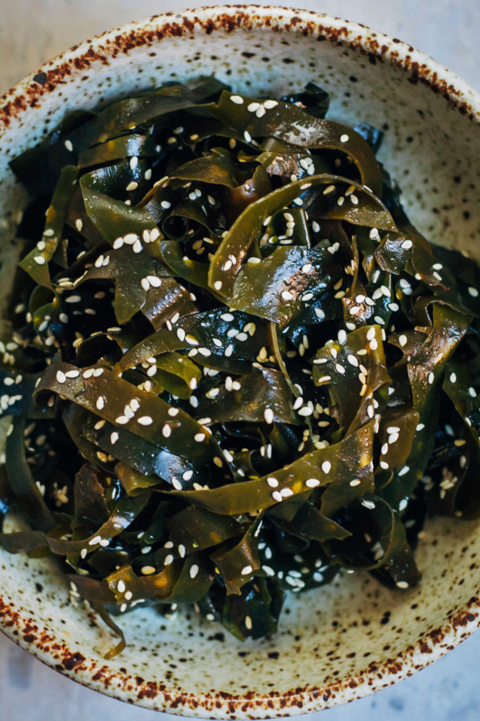 Seaweed Salad | Well and Full | #vegan #recipe