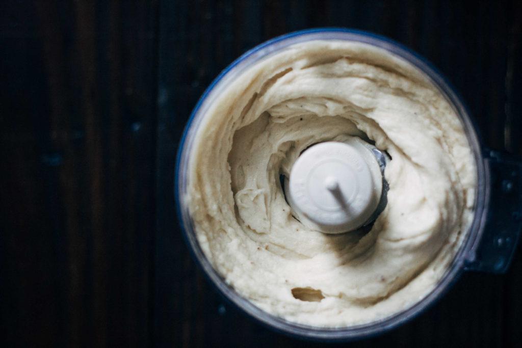 Raspberry Swirl Banana Ice Cream | Well and Full | #vegan #recipe