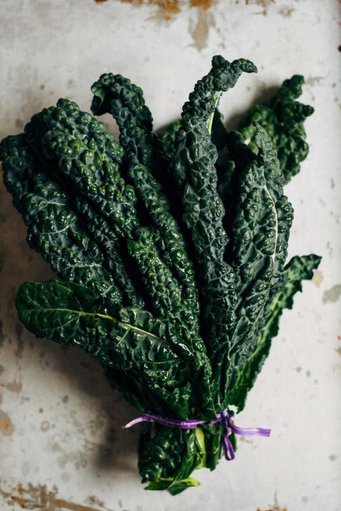 Kale + Apple Salad w/ Creamy Coconut Yogurt Dressing   Well and Full   #vegan #recipe