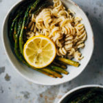 The Best Roasted Asparagus + A Lemony Herb Spring Pasta   Well and Full   #vegan #pasta #recipe