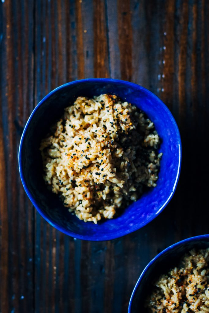 A Healthier Take on Vegan Fried Rice | Well and Full | #vegan #rice #recipe