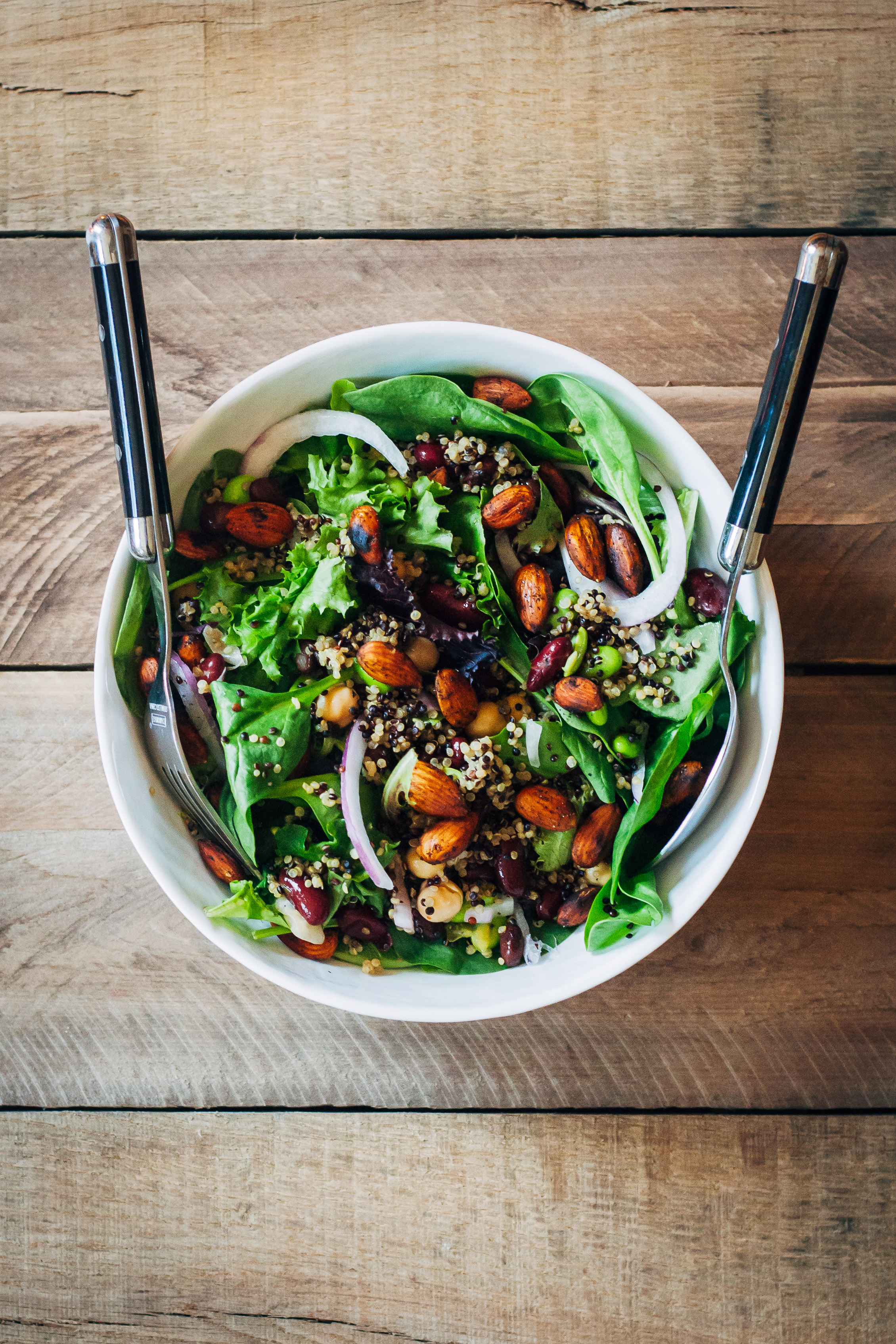 Power Protein Salad | Well and Full | #vegan #protein #recipe