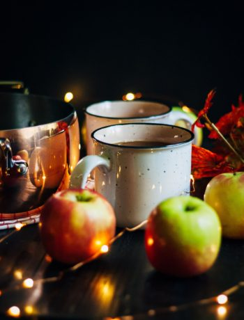 Festive Mulled Apple Cider | Well and Full