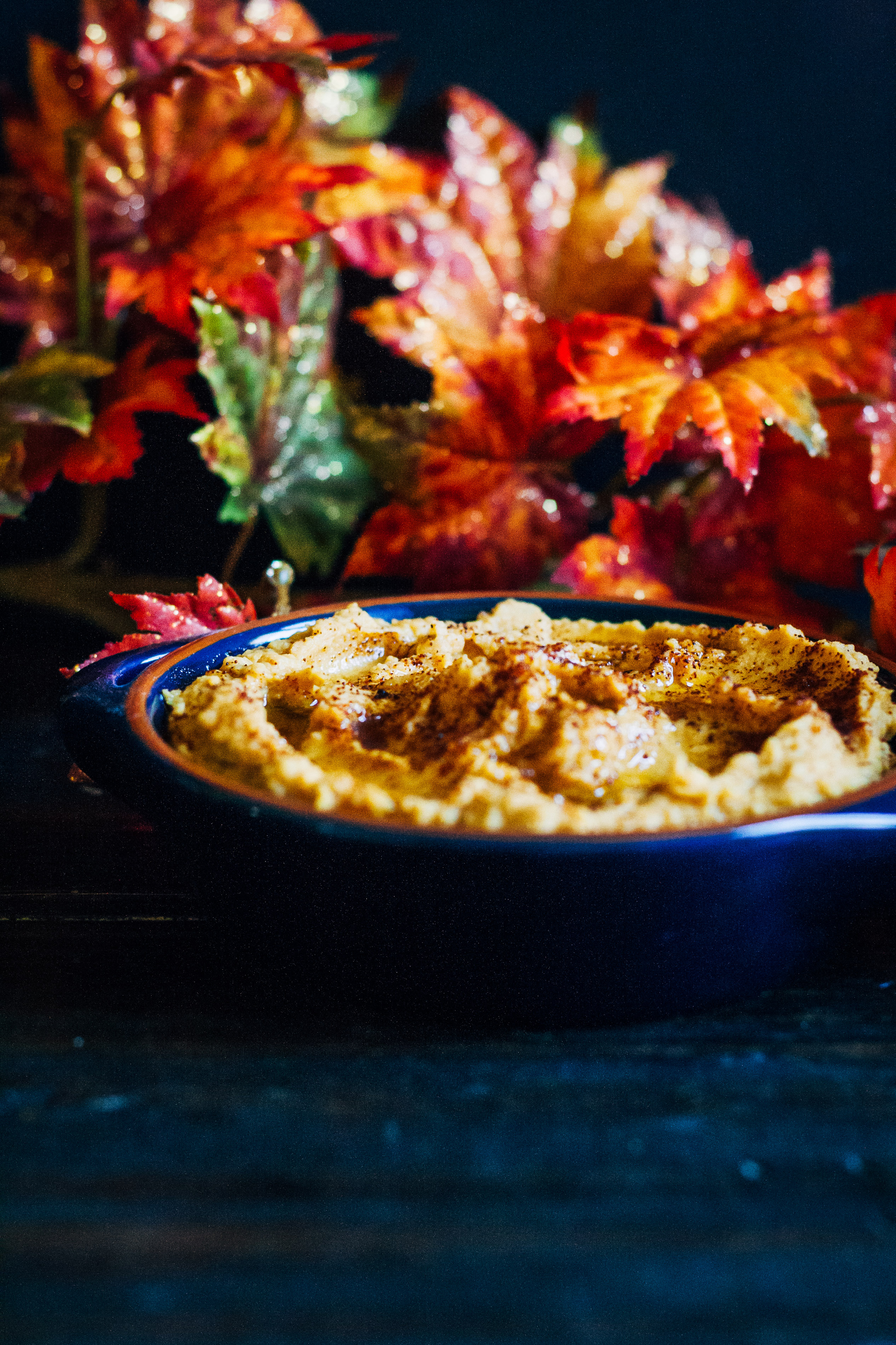 Spicy Chipotle Pumpkin Hummus | Well and Full