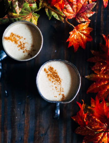 Vegan Pumpkin Spice Latte | Well and Full | #vegan #recipe #PSL