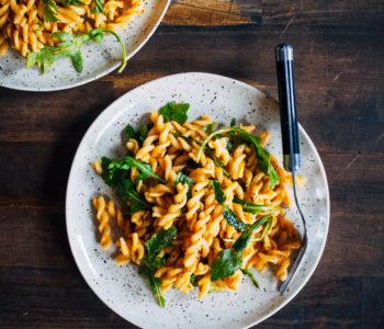 Autumn Pumpkin Pasta   Well and Full   #vegan #pumpkin #pasta