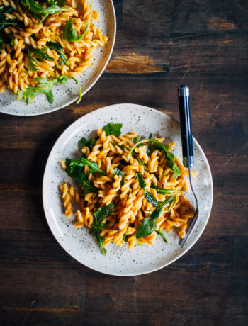 Autumn Pumpkin Pasta | Well and Full | #vegan #pumpkin #pasta