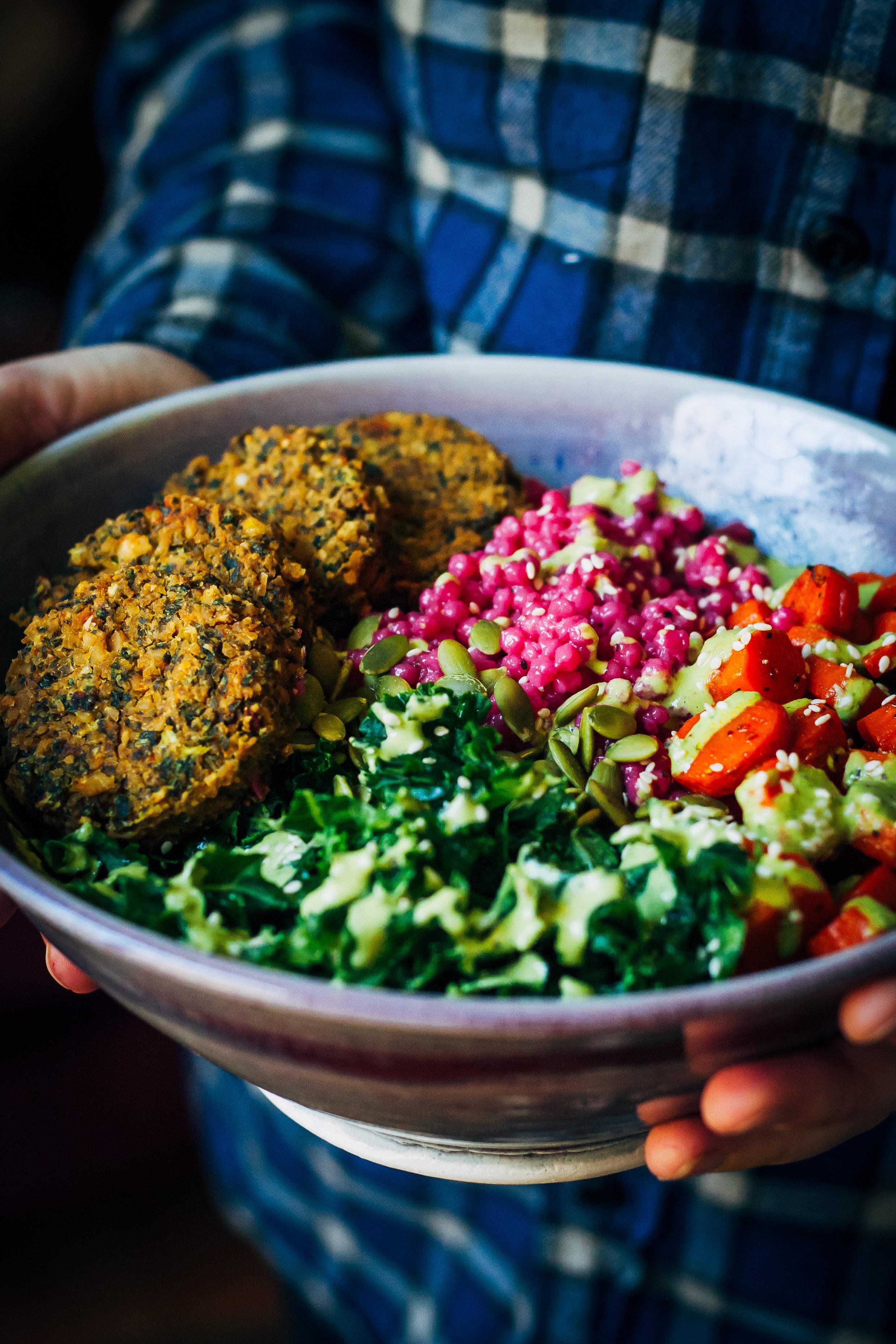 Winter Buddha Bowl | Well and Full | #vegan #recipe