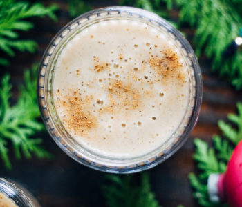 Raw Vegan Eggnog | Well and Full