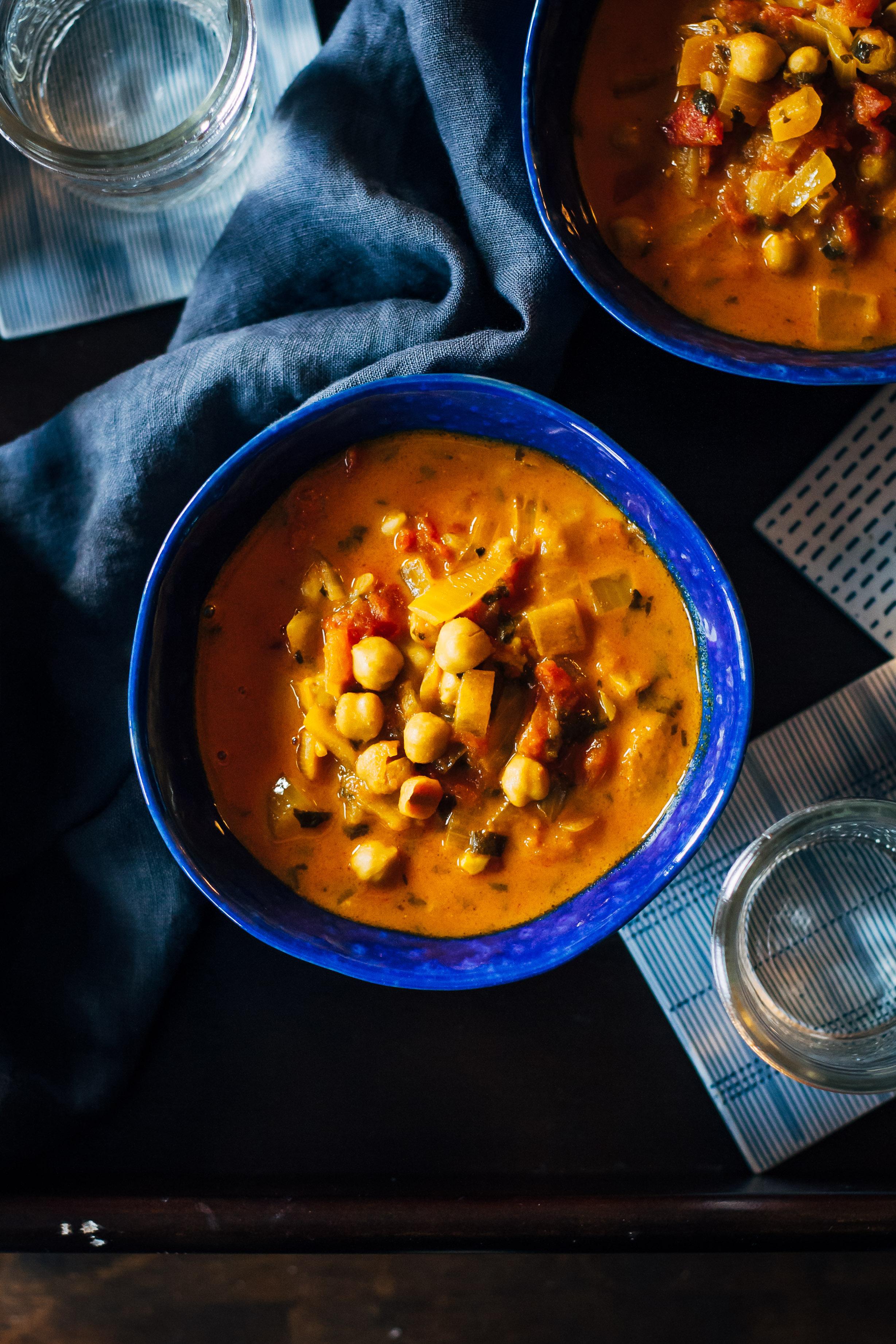 Warming Vegan Chana Masala | Well and Full