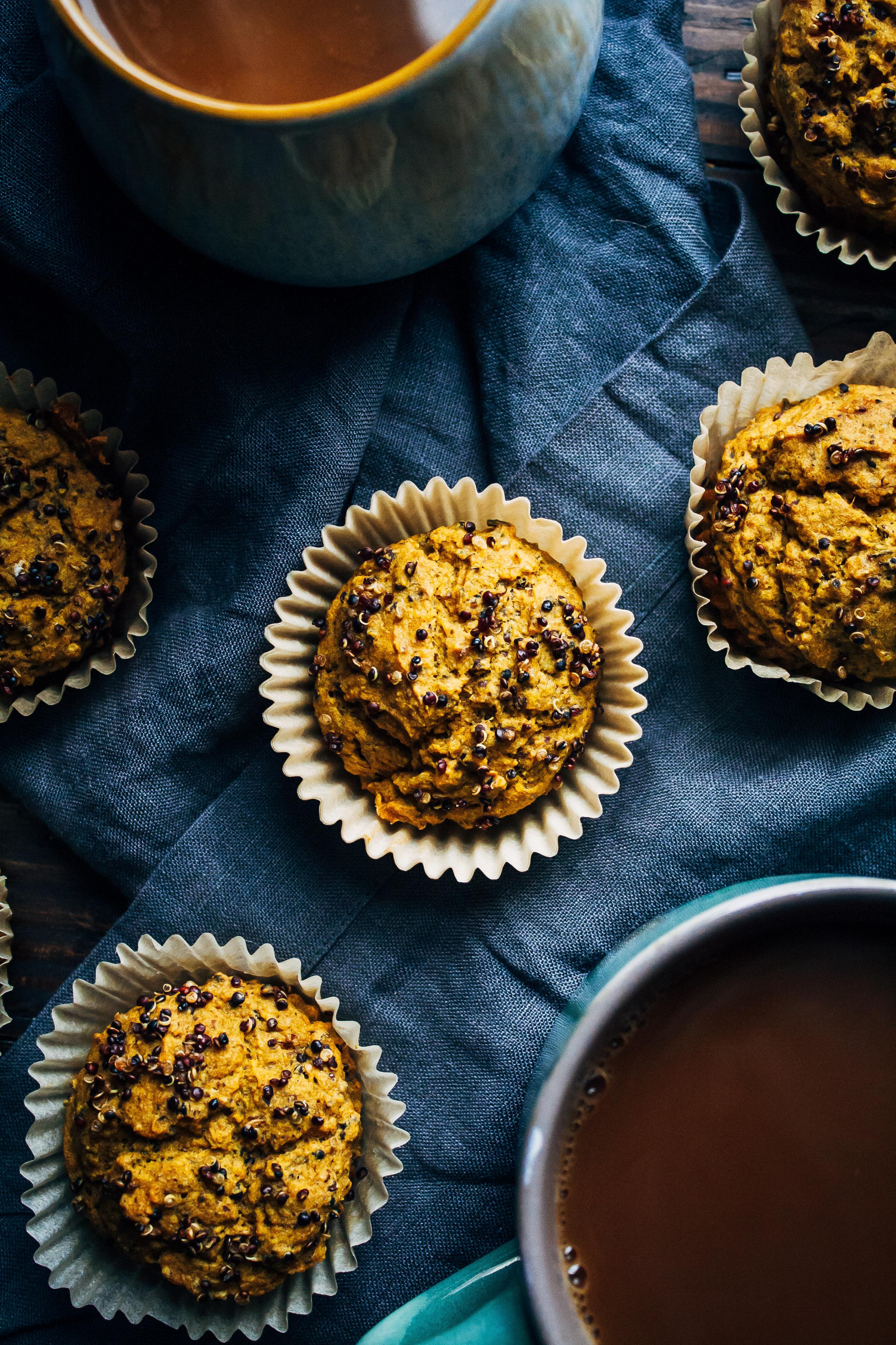 Breakfast Quinoa Muffins   Well and Full