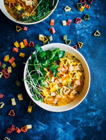 Date Night Soup   For Valentine's Day   Well and Full   #vegan #soup #recipe