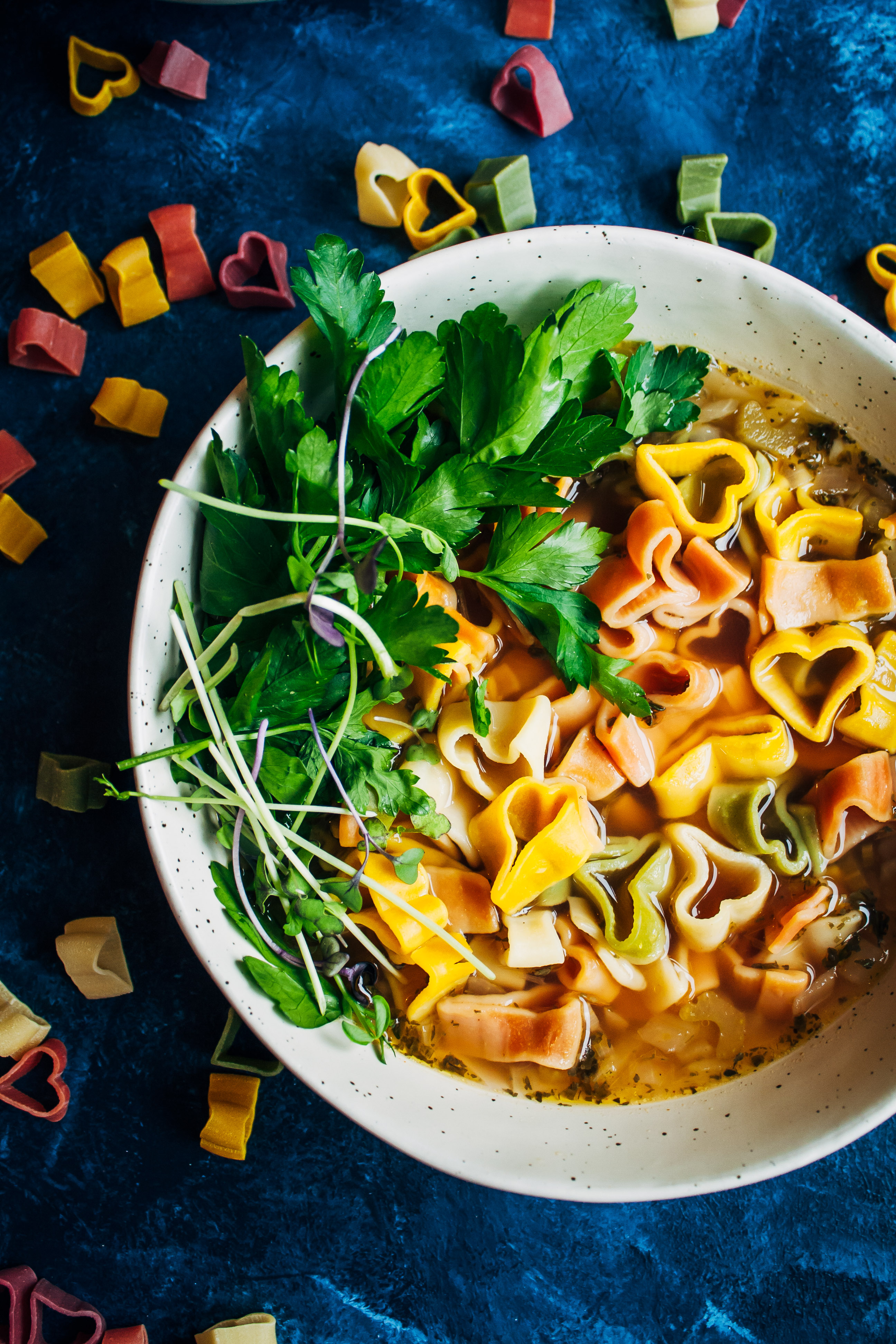 Date Night Soup | For Valentine's Day | Well and Full | #vegan #soup #recipe