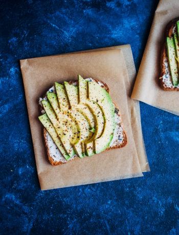 A Really Good Vegan Avocado Toast | Well and Full | #vegan #avocado #recipe
