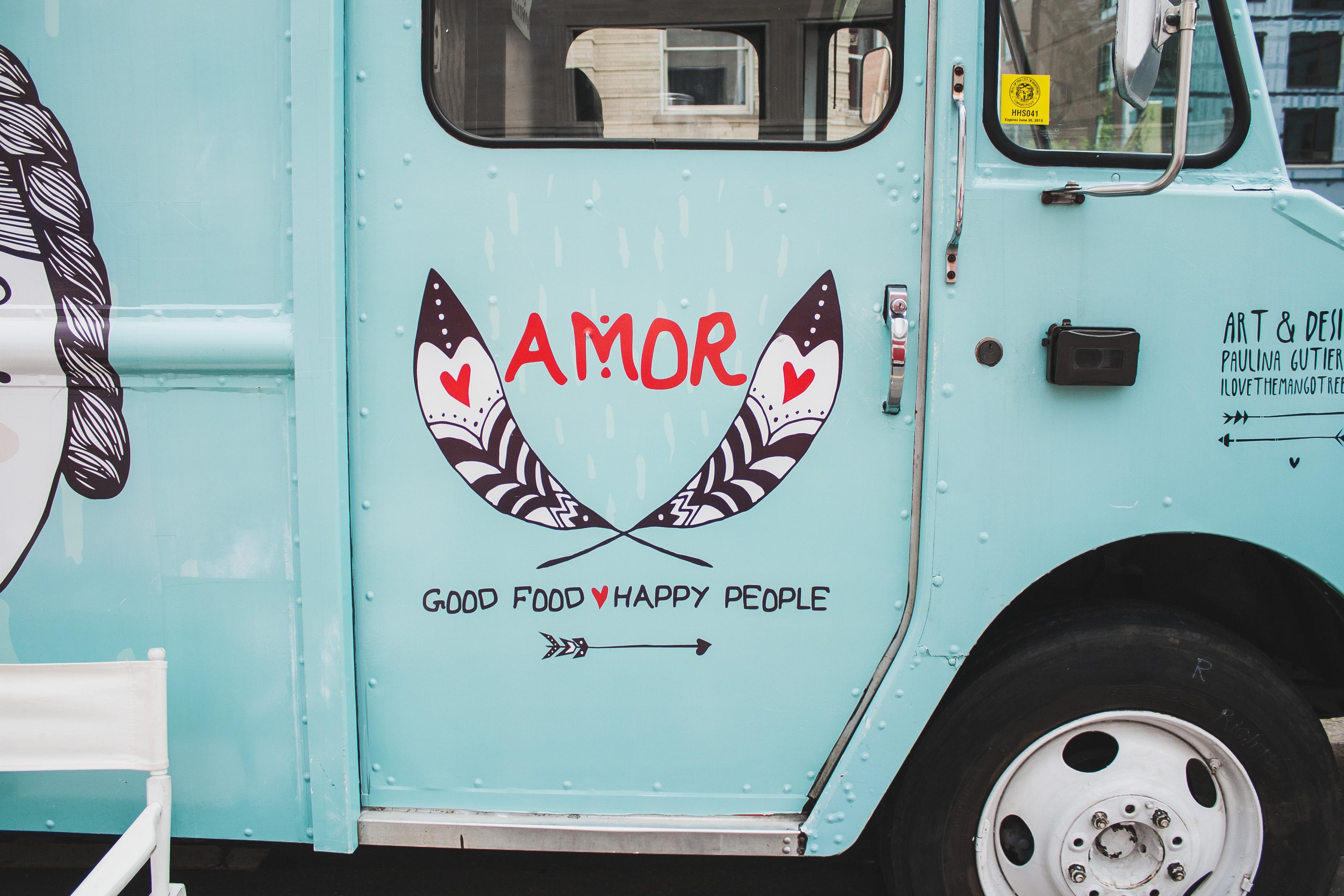 Food Truck Festival + Street Fries w/ Avocado Crema   Well and Full   #vegan #recipe