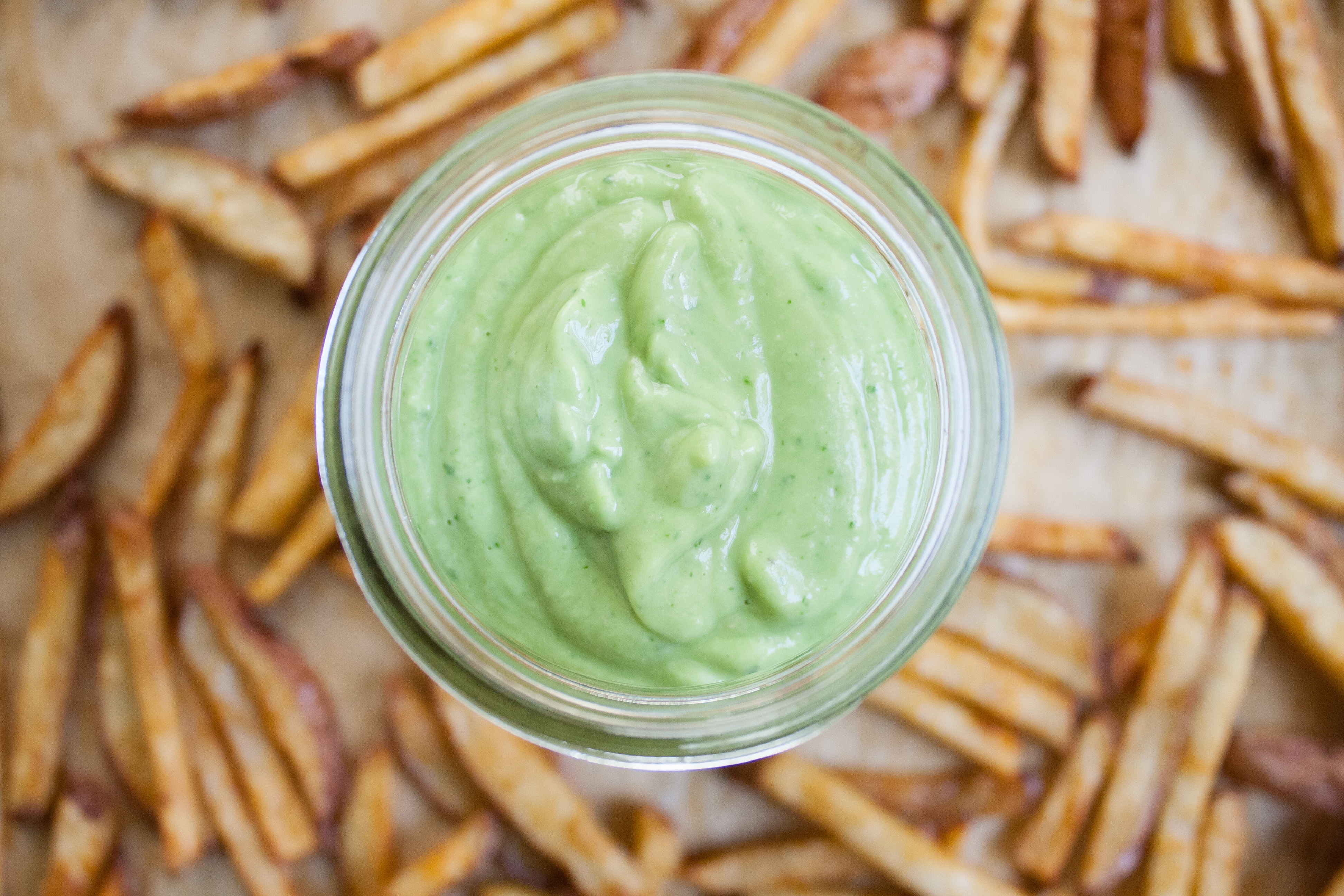 Food Truck Festival + Street Fries w/ Avocado Crema | Well and Full | #vegan #recipe