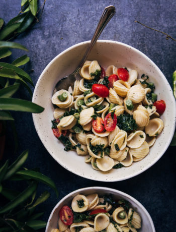 The Best Vegan Pasta Salad | Well and Full | #vegan #recipe
