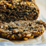 Espresso Banana Bread | Well and Full | #vegan #recipe