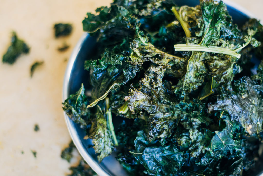 How to Make Kale Chips Without a Dehydrator | Well and Full | #vegan #recipe