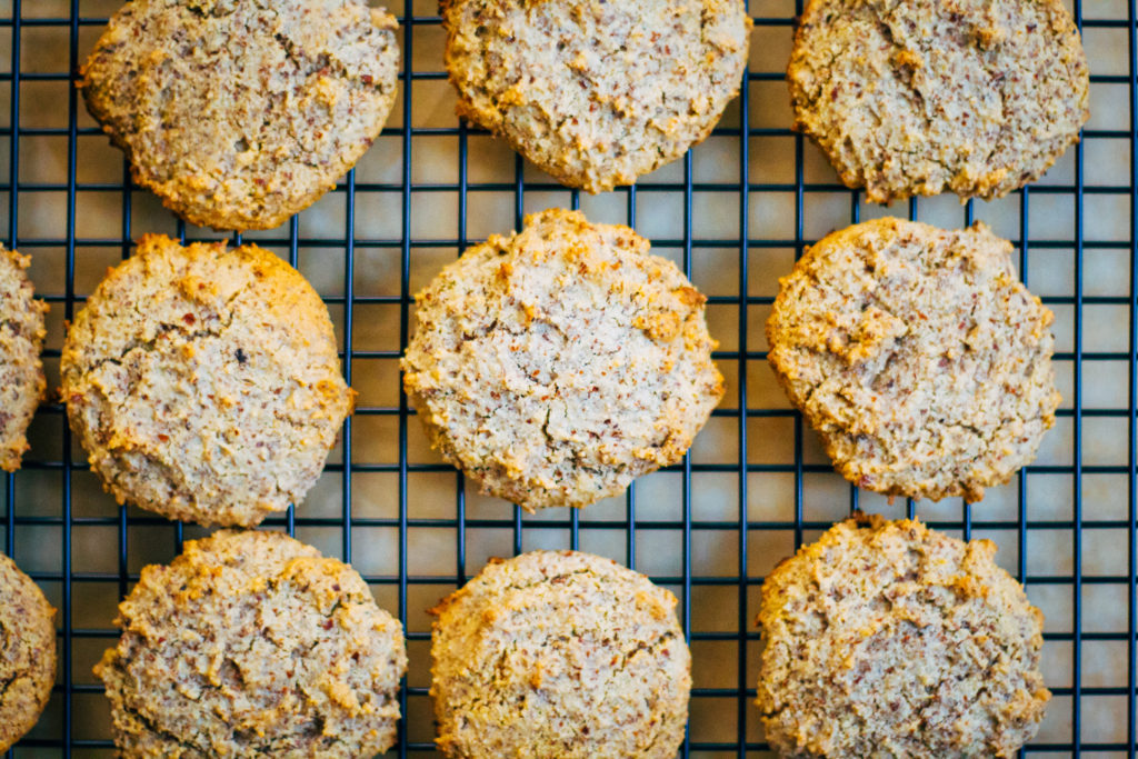 Chewy Paleo Almond Cookies   Well and Full   #vegan #plantbased #recipe