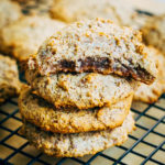 Chewy Paleo Almond Cookies | Well and Full | #vegan #plantbased #recipe