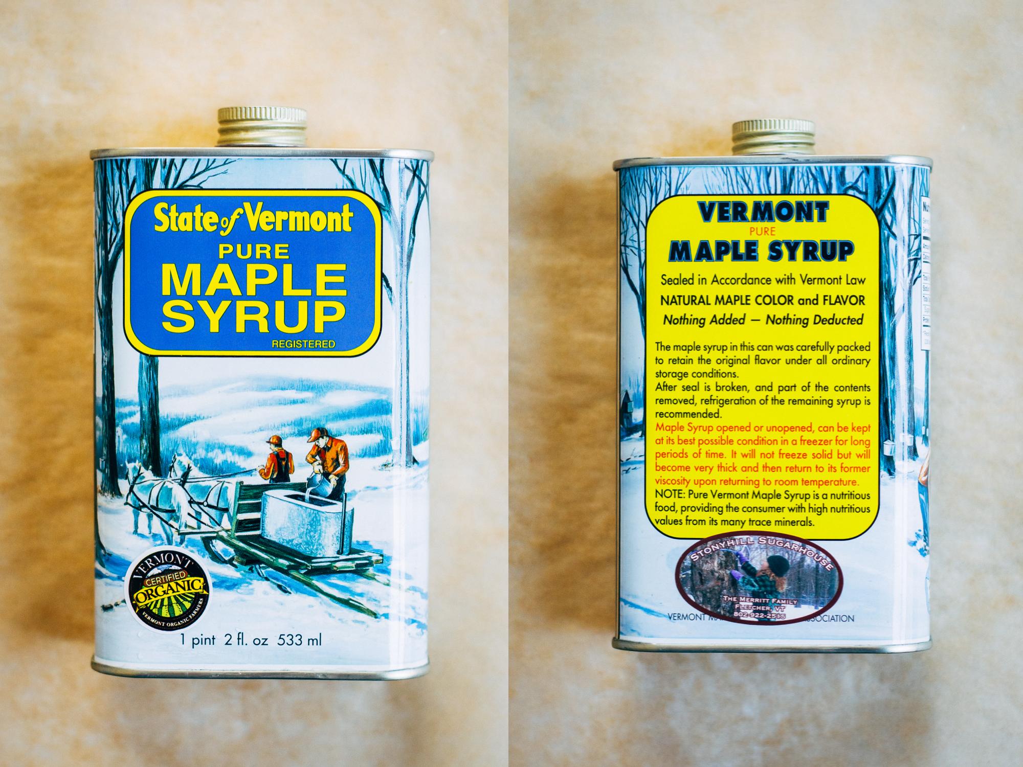 Vermont Maple Lemonade   Well and Full   #vegan #plantbased #recipe