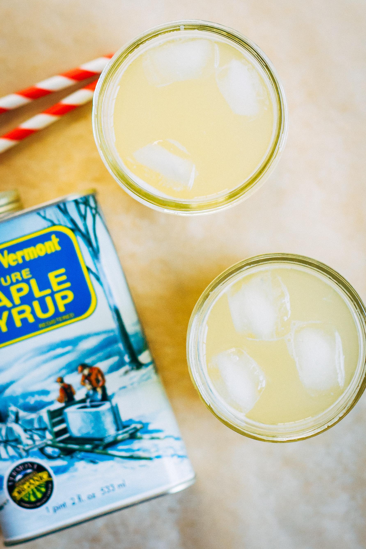 Vermont Maple Lemonade