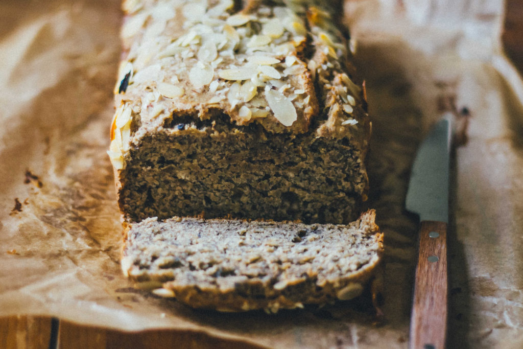 Cozy Cinnamon Chai Banana Bread | Well and Full | #plantbased #recipe