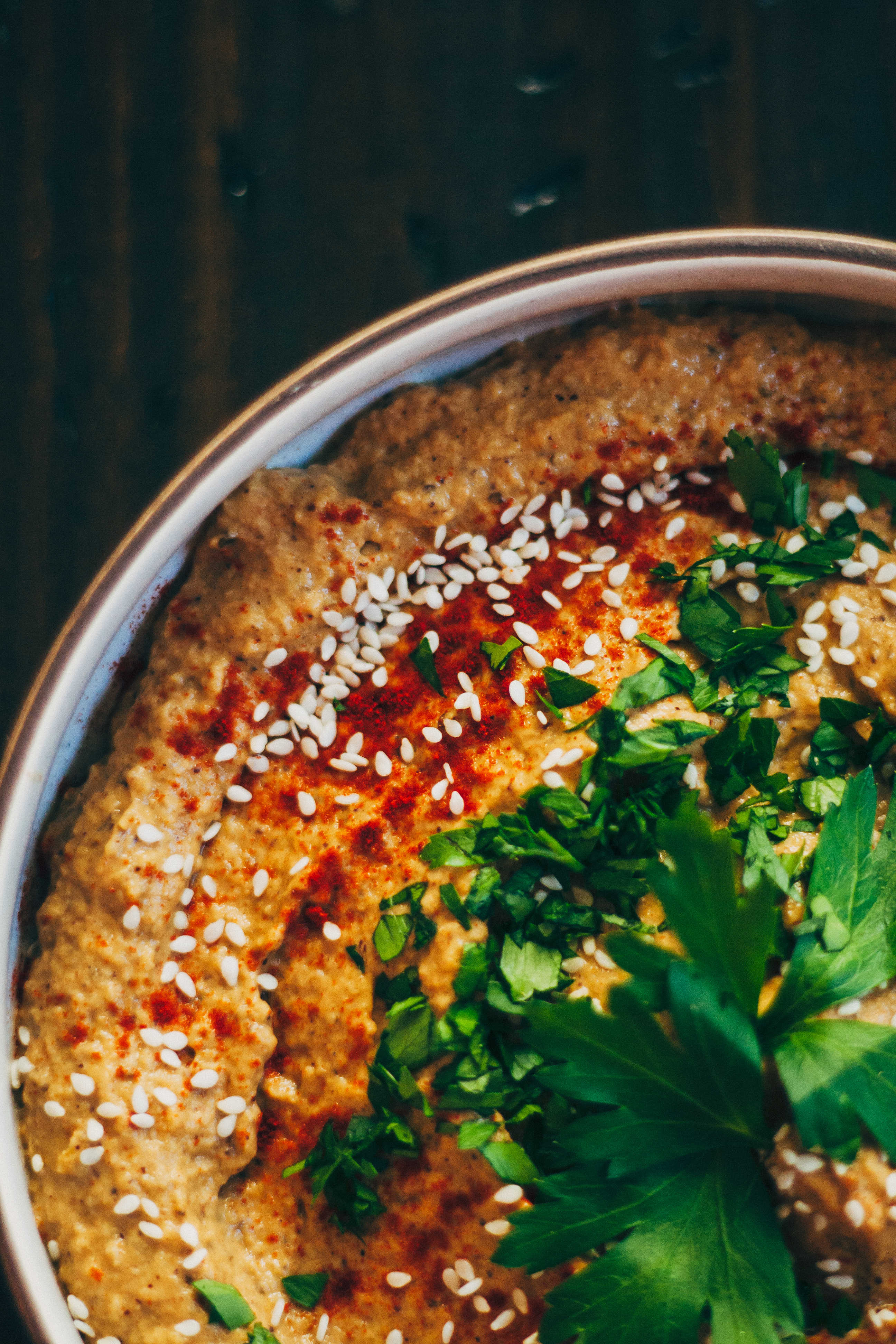 Baba Ganoush | Well and Full | #recipe