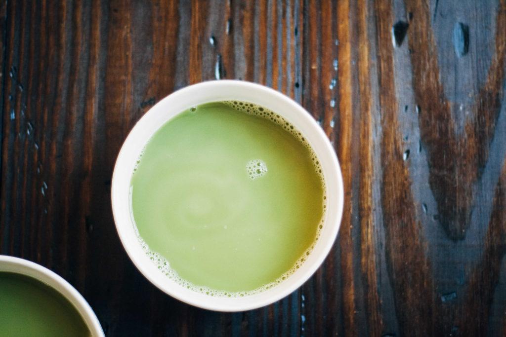 Matcha Mint Tea | Well and Full
