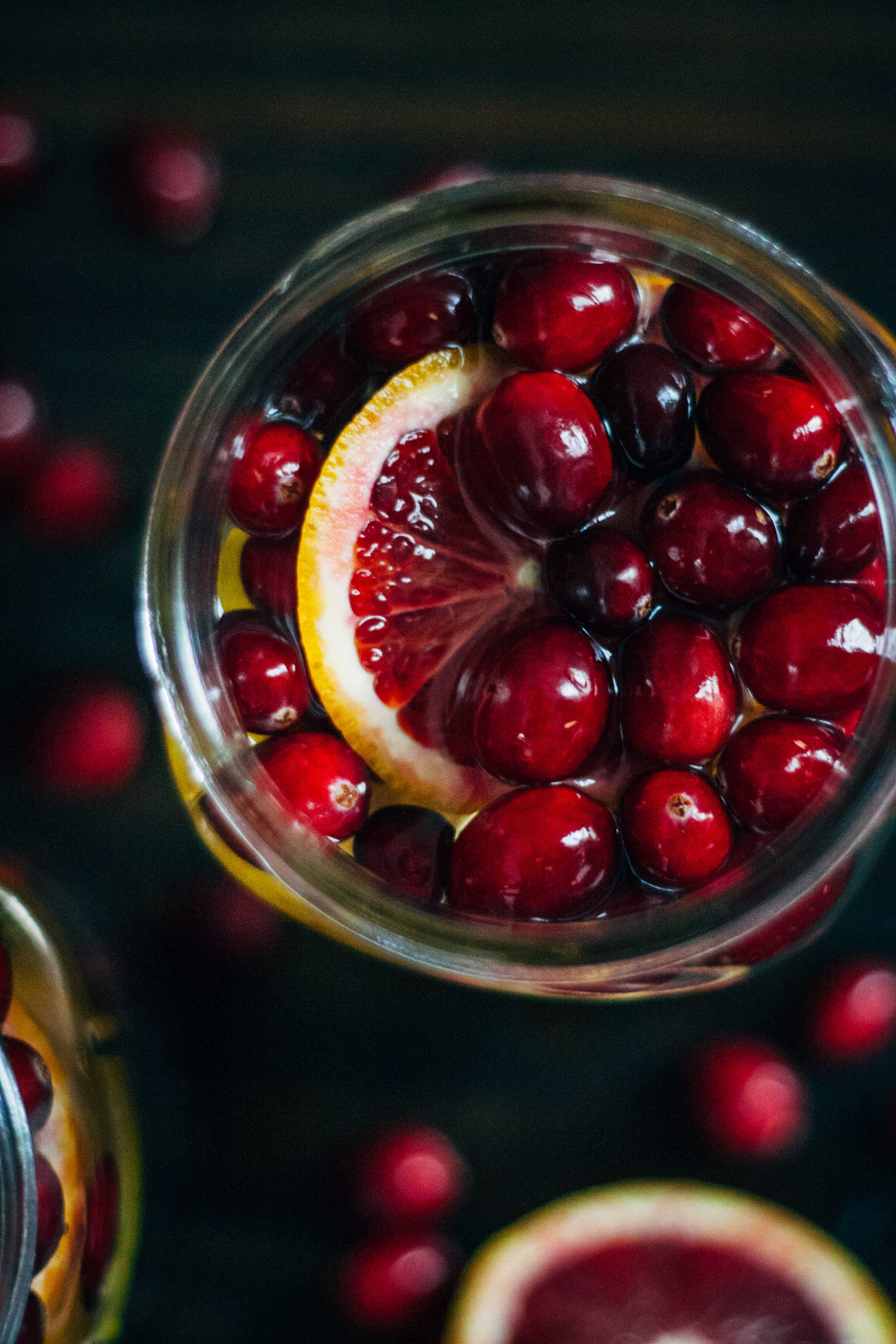 Cranberry Orange Detox Water | Well and Full | #vegan #detox