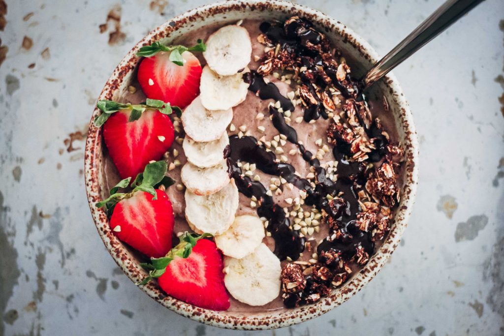 How To Make An Acai Bowl   Well and Full   #vegan #recipe