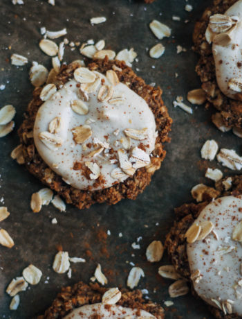 Really Good Raw Vegan Oatmeal Cookies | Well and Full | #raw #vegan #recipe