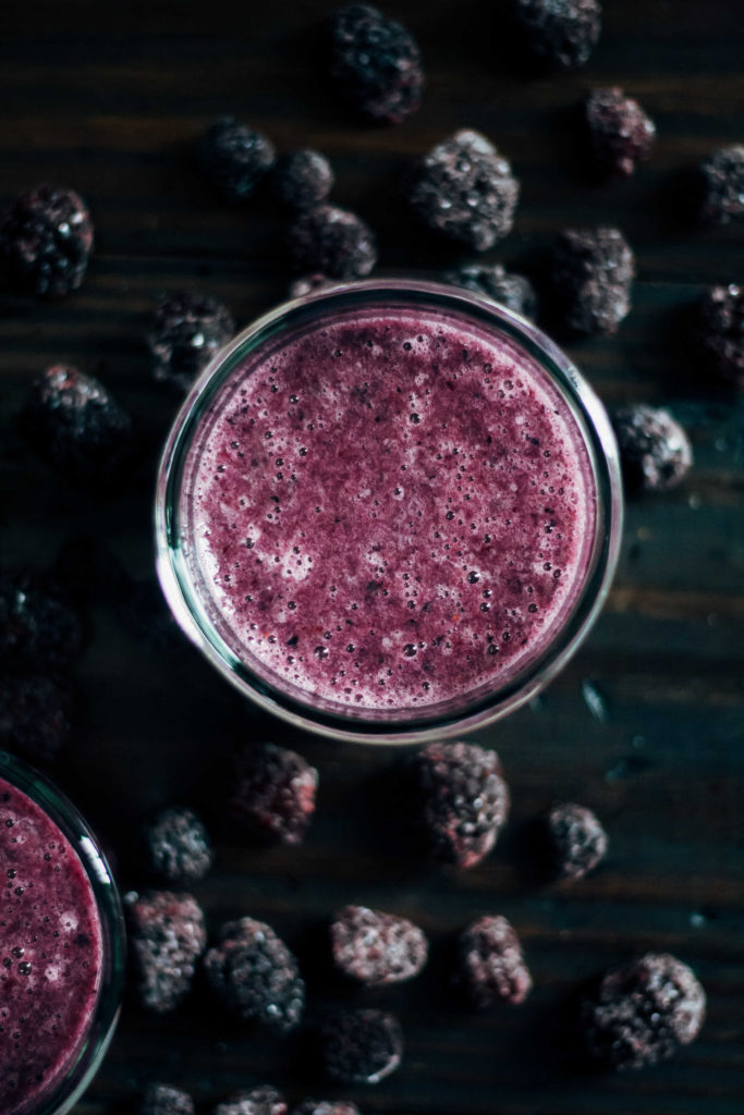 Sunday Sutra: Crown Chakra Smoothie   Well and Full   #vegan #yoga
