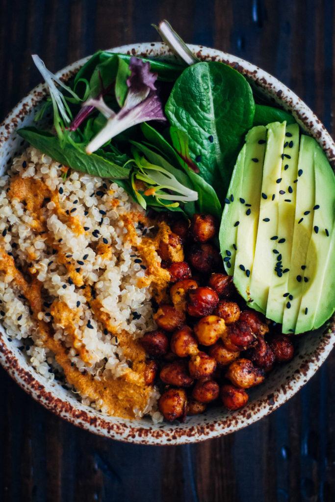 The vegan buddha bowl well and full for Cuisine vegan