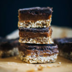 Raw Mocha Caramel Slice | Well and Full | #raw #vegan #recipe