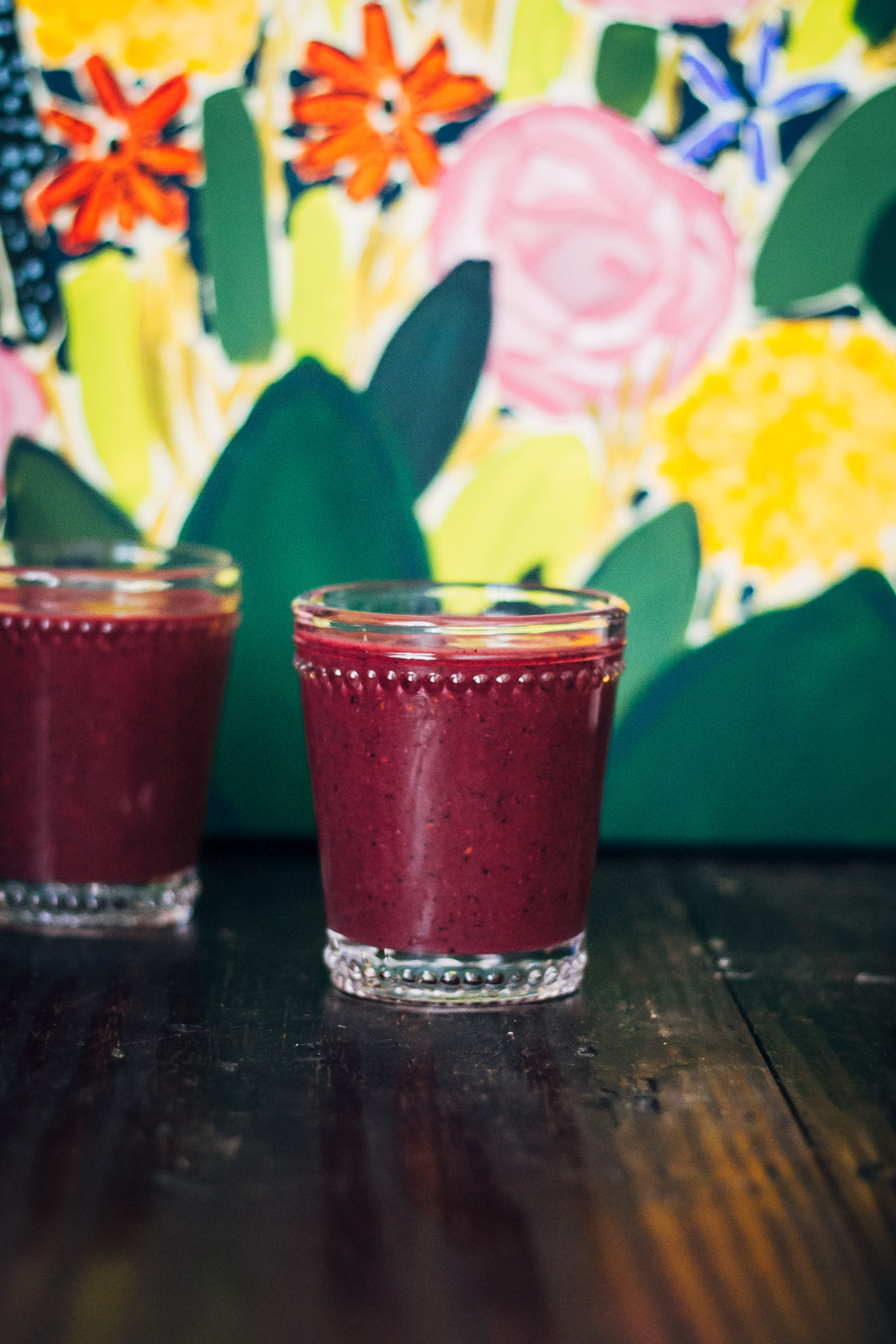 Fabulous Fiber Smoothie   Well and Full   #vegan #smoothie #recipe
