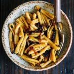 Caramelized Onion Pasta | Well and Full | #vegan #pasta #recipe