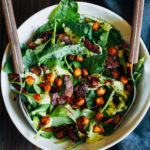 My Favorite Vegan Salad | Well and Full | #vegan #salad #recipe
