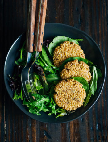 Millet Fritters | Well and Full