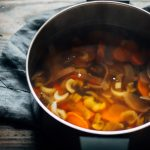 Winter Root Vegetable Broth | Well and Full | #vegan #broth #recipe