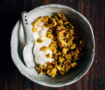 Ayurvedic Granola | Well and Full | #vegan #granola #ayurvedic