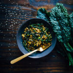 Kale Rice Bowl w/ Rice of the Prairies | Well and Full