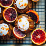 Vanilla Earl Grey Donuts w/ Caramel + Blood Orange Zest | Well and Full