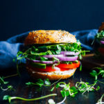 The Ultimate Vegan Bagel Sandwich   Well and Full