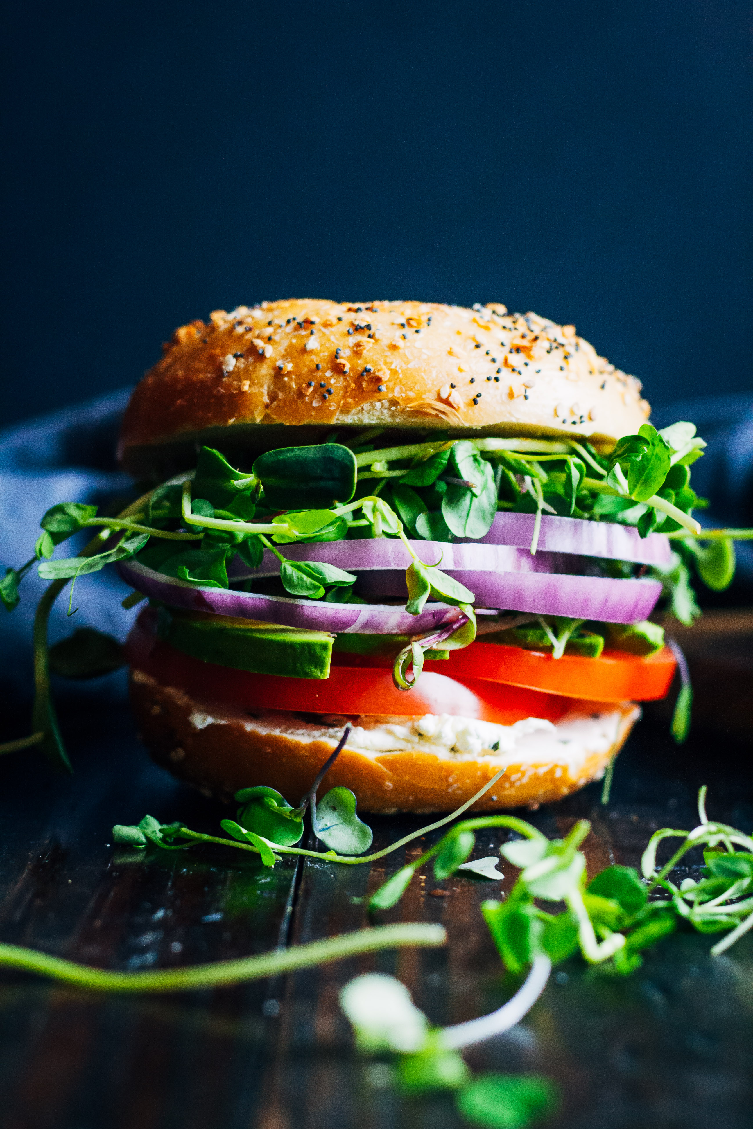 The Ultimate Vegan Bagel Sandwich | Well and Full